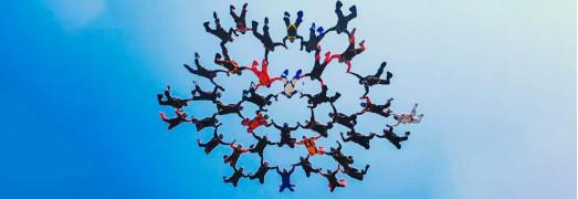 O salto da liderança  - Topa saltar em conjunto no desconhecido?